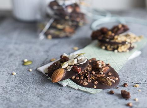 Foto van Chocolaatjes met studentenhaver