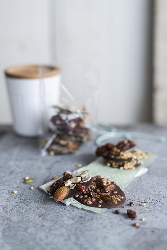 Foto van Mijn 'healthy pleasure'? Pure chocolade.